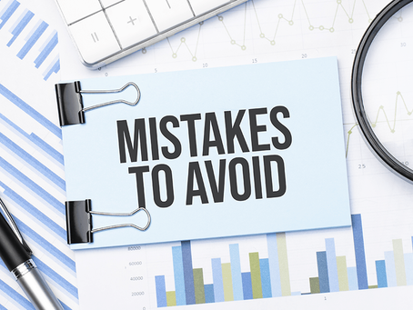 Three Mistakes to Avoid in the Second Half of 2021