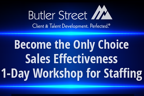Sales Effectiveness 1 Day Workshop - November 5th in Chicago
