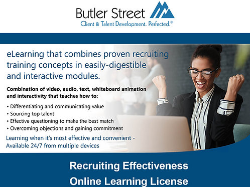 Recruiting Effectiveness eLearning License