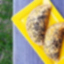 Pastel integral com carne de boi desfiad