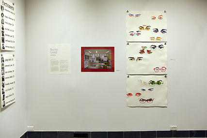 senior fine arts thesis, monotype printmaking