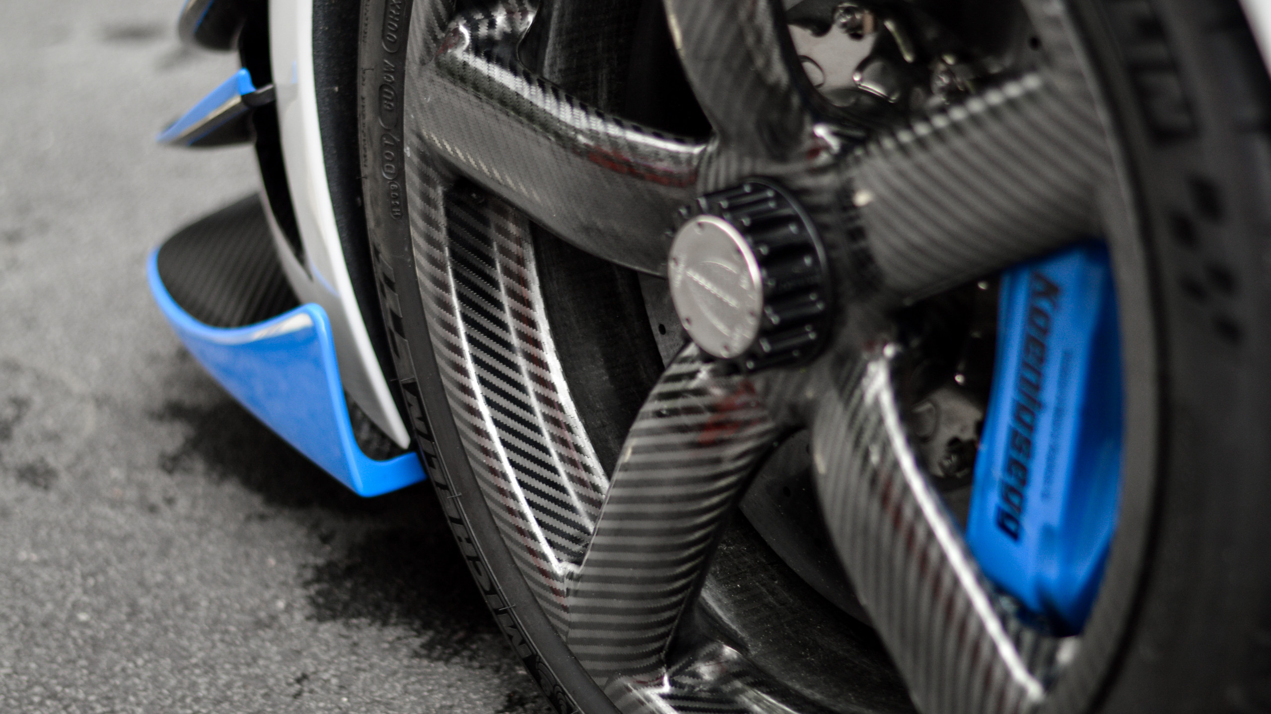 The work that goes into each of these carbon fibre wheels is immense- and they look stunning!