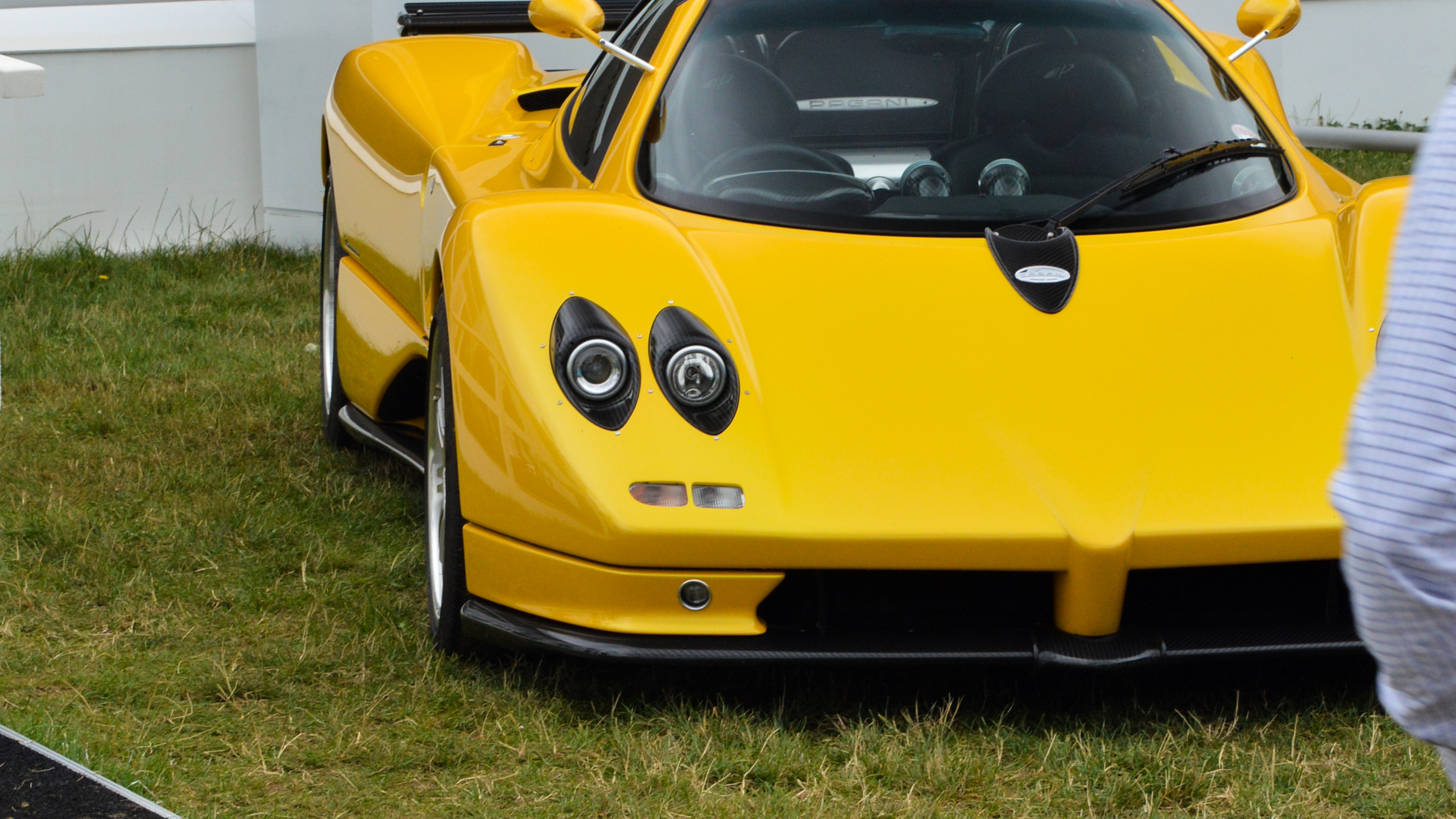 One of Pagani's first models photographed at the Goodwood Festival Of Speed 2017
