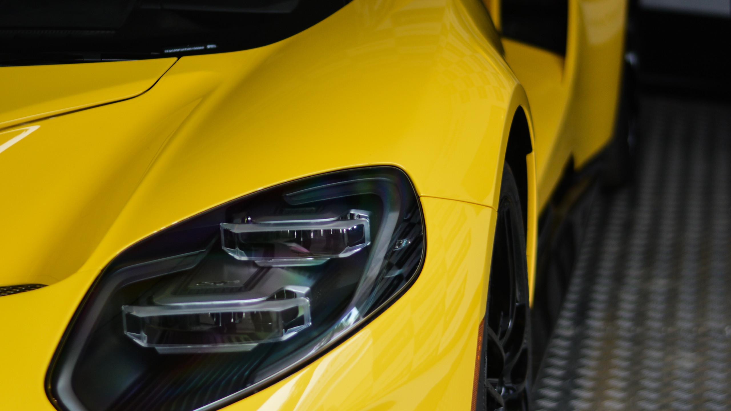This new model features extravagant headlight design