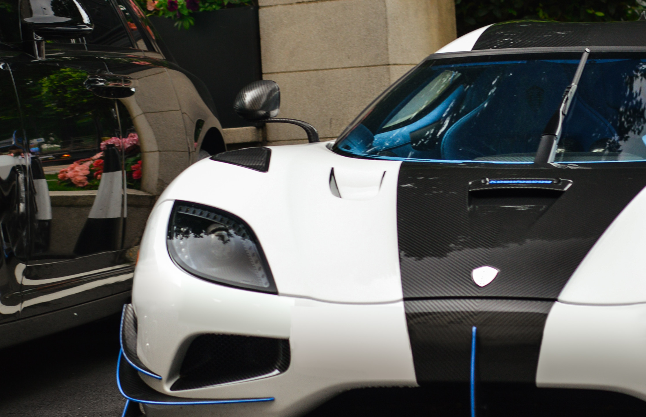The Koenigsegg Agera 'RS1' in Central London- when it wasn't busy seetting the top speed record!