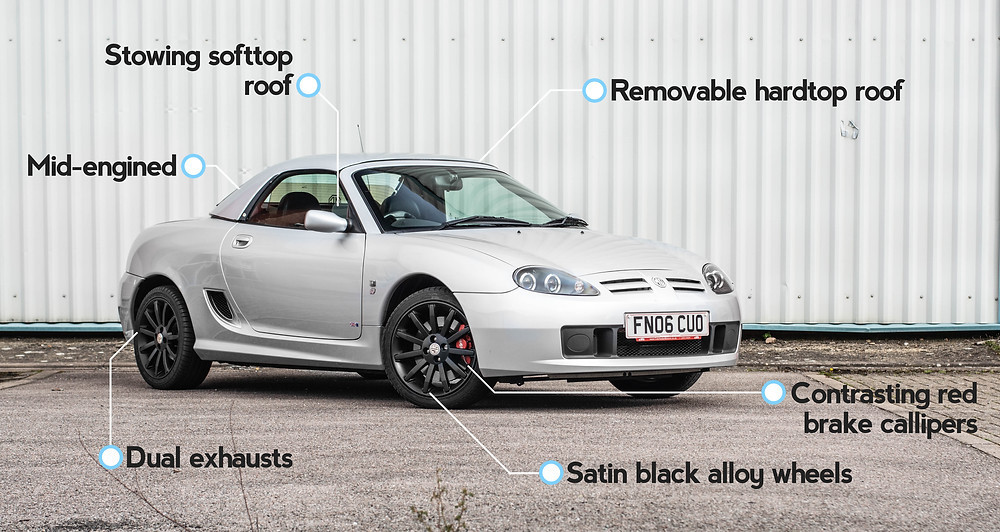 MG TF key features