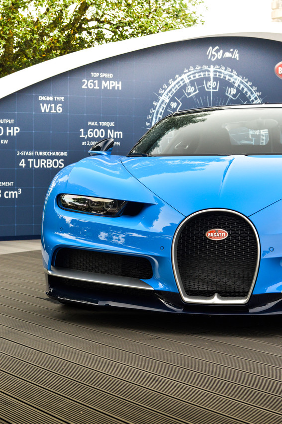 This is the launch edition specification, with two tones of blue dissected by a silver pinstripe
