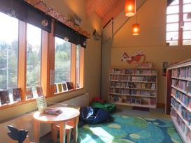 Ketchikan Public Library - Tween corner