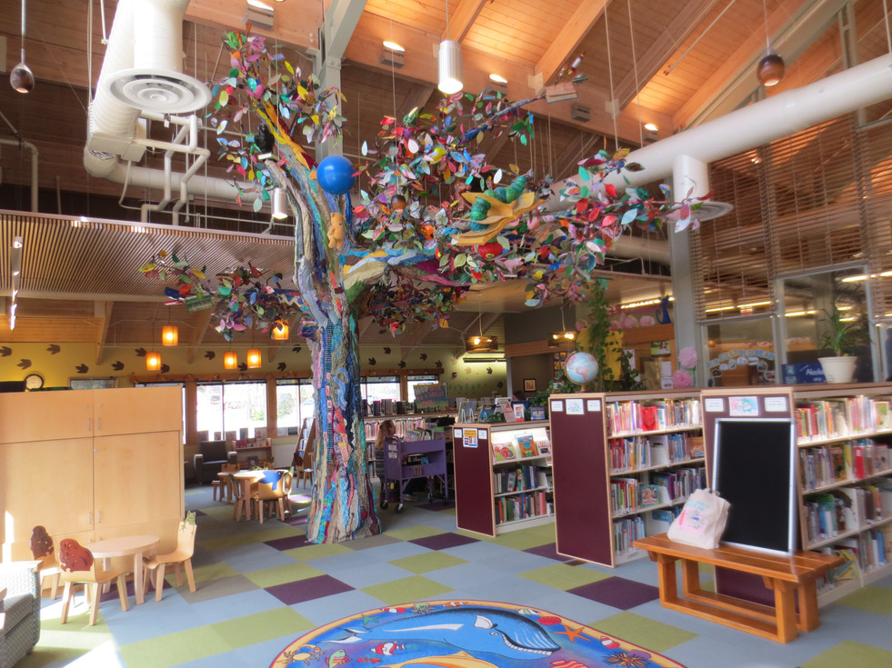 Ketchikan Public Library - Children's Library tree