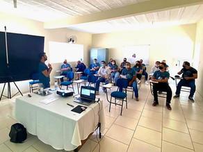 Colaboradores da Rádio Educadora passam por treinamento para aperfeiçoar trabalho em equipe