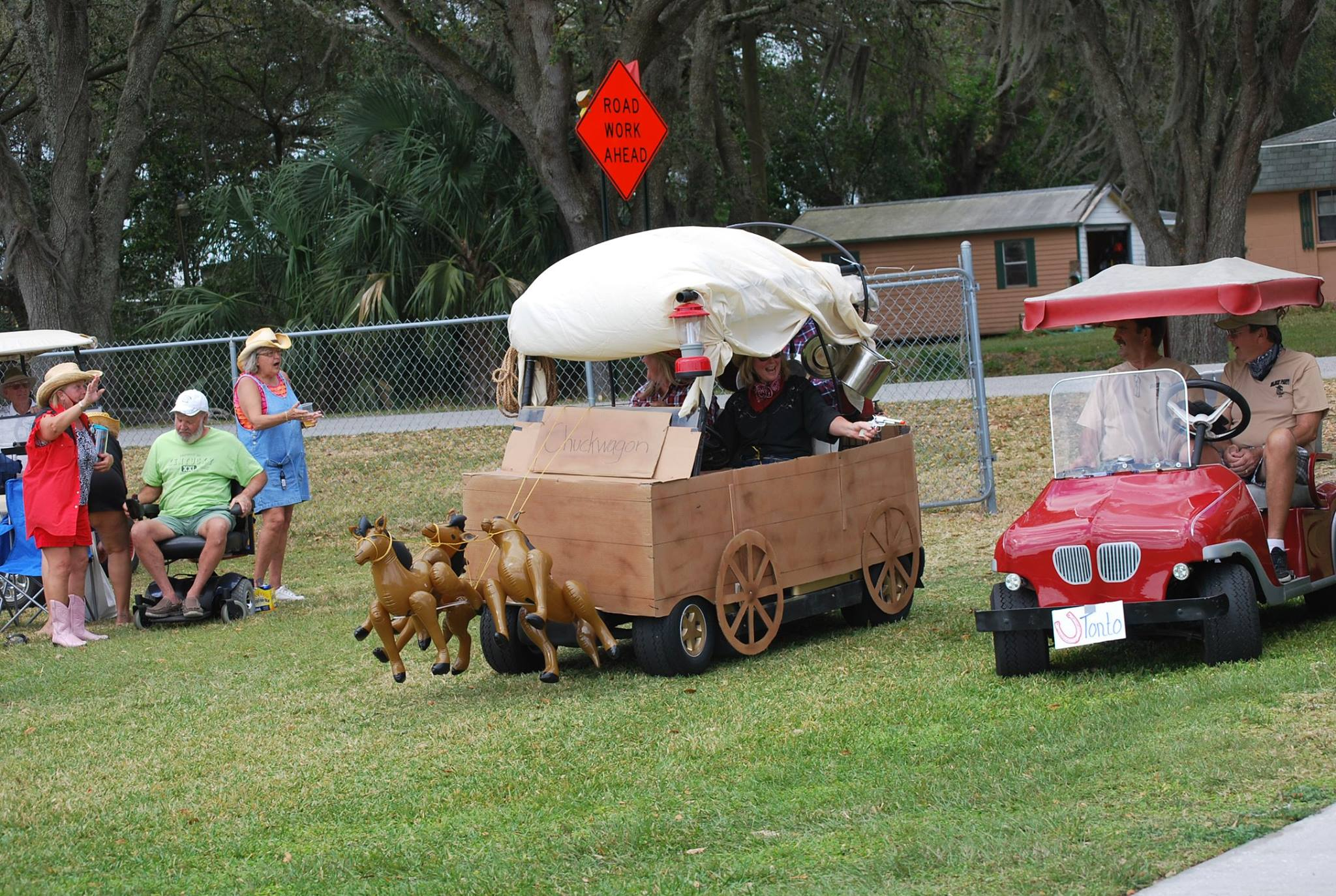 chuckwagon golf cart