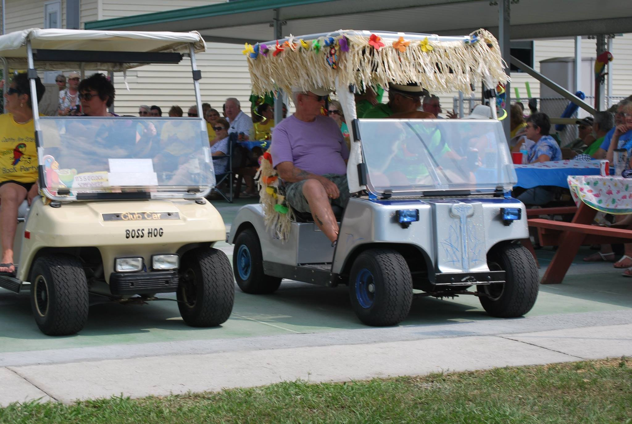 golf cart races