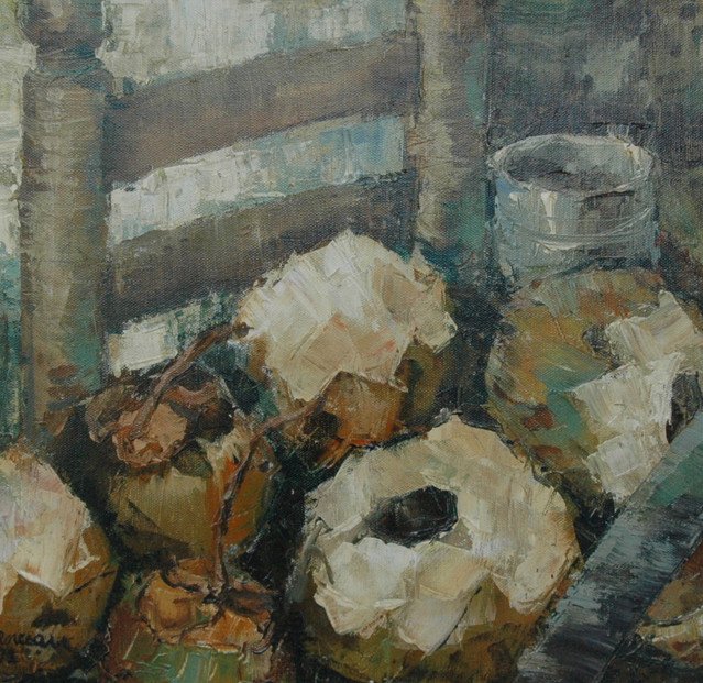 Still Life with Coconuts