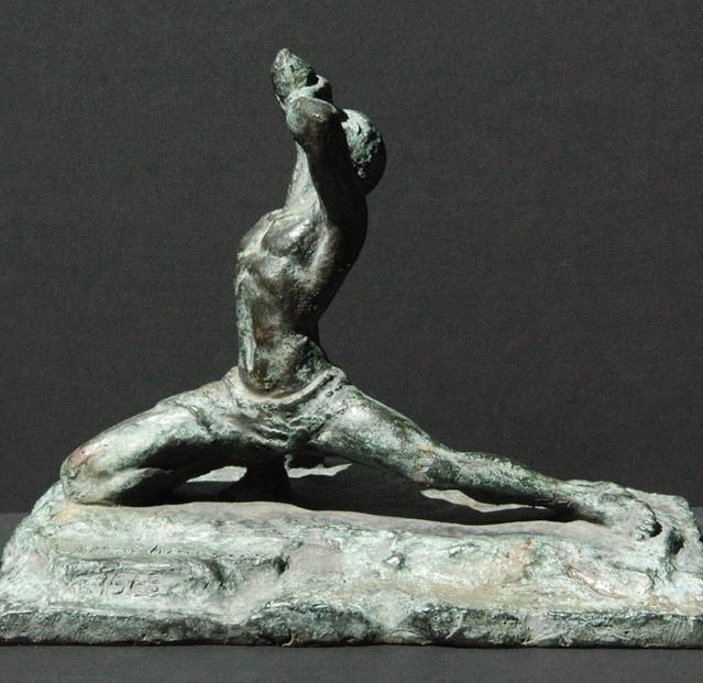 Marron de St. Domingue, bronze maquette,