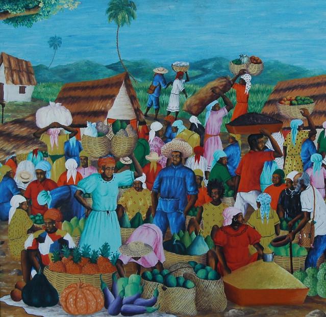 Papa Legba and Market
