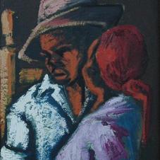 "Nehemy Jean o/b, 11""x32"", 1960"