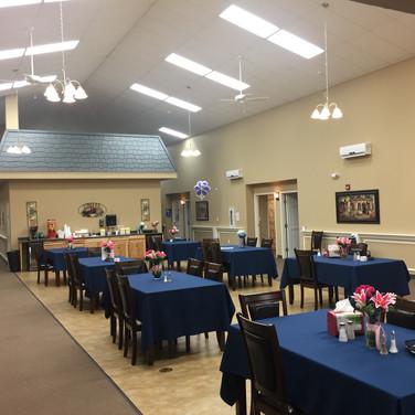 Focus Care Dining Room