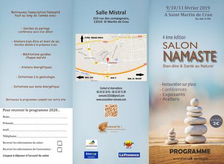 Salon Namaste 2019 Saint Martin de Crau