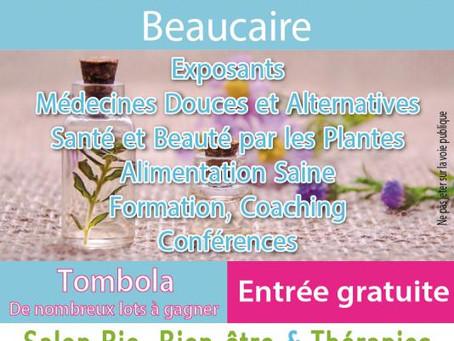 Salon Bio Bien-Être et Thérapies de Beaucaire 14 et 15 Avril 2018