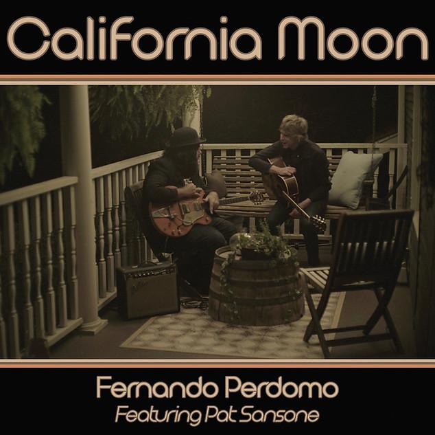 California Moon Single featuring Pat Sansone (2018)
