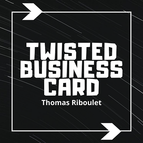 Twisted Business Card