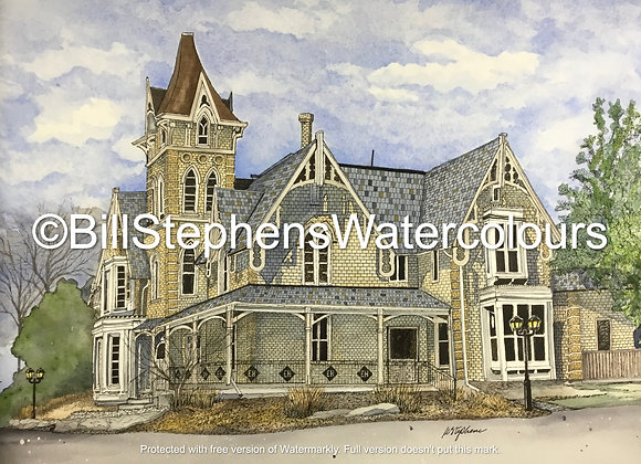Original Watercolour Painting - Elm Hurst Inn