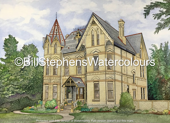 Original Watercolour Painting - Annandale House
