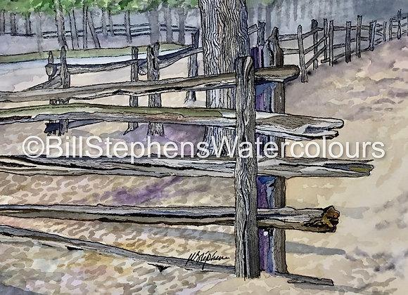 Original Watercolour Painting - Grand Bend Art Centre scene