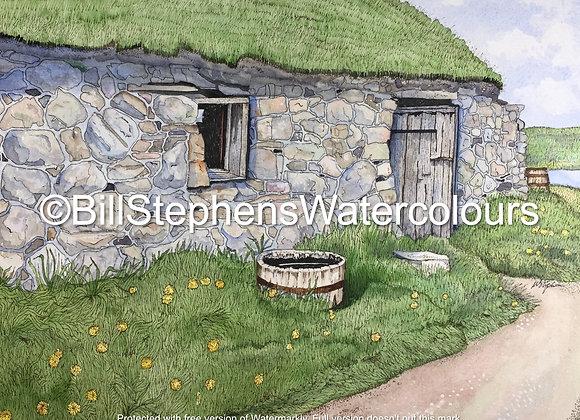 Original Watercolour Painting - Root Cellar