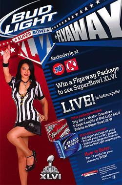 Super Bowl Flyaway Ad