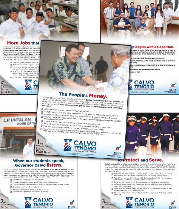 CalvoTenorio Issues Ad Campaign