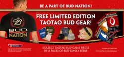 Bud People Truck Signage