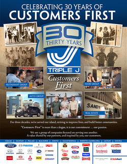 30 Year Anniversary Ad