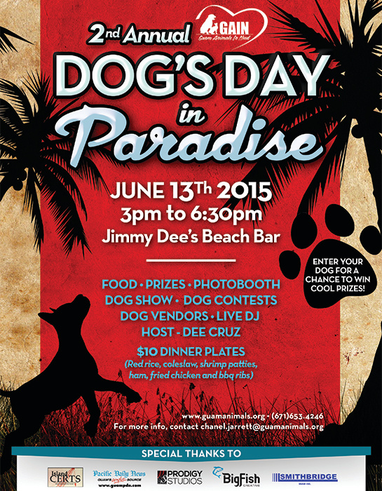 Dog's Day in Paradise Flyer