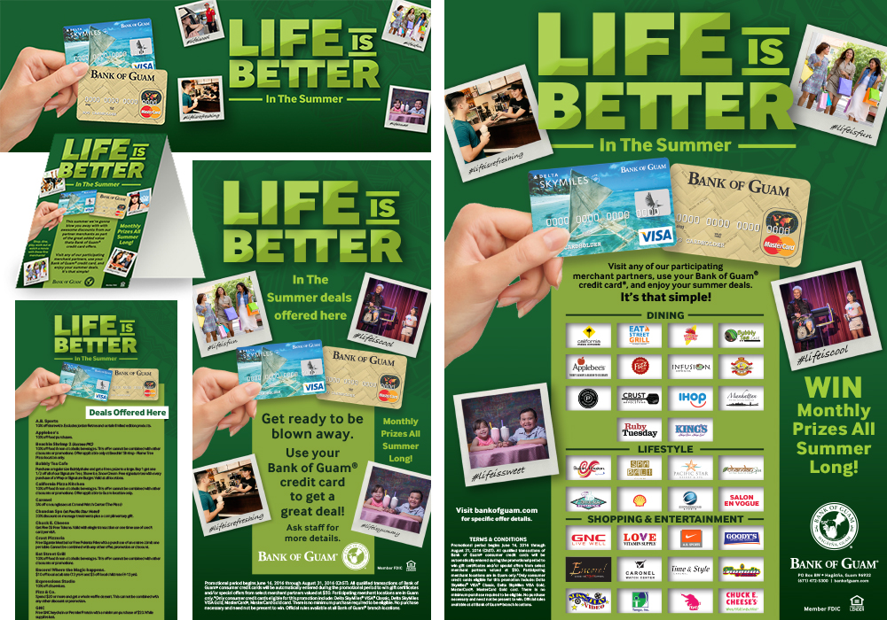 Life is Better Summer Campaign