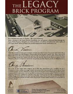Legacy Brick Program Poster
