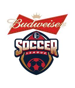 Budweiser Soccer League Logo Design