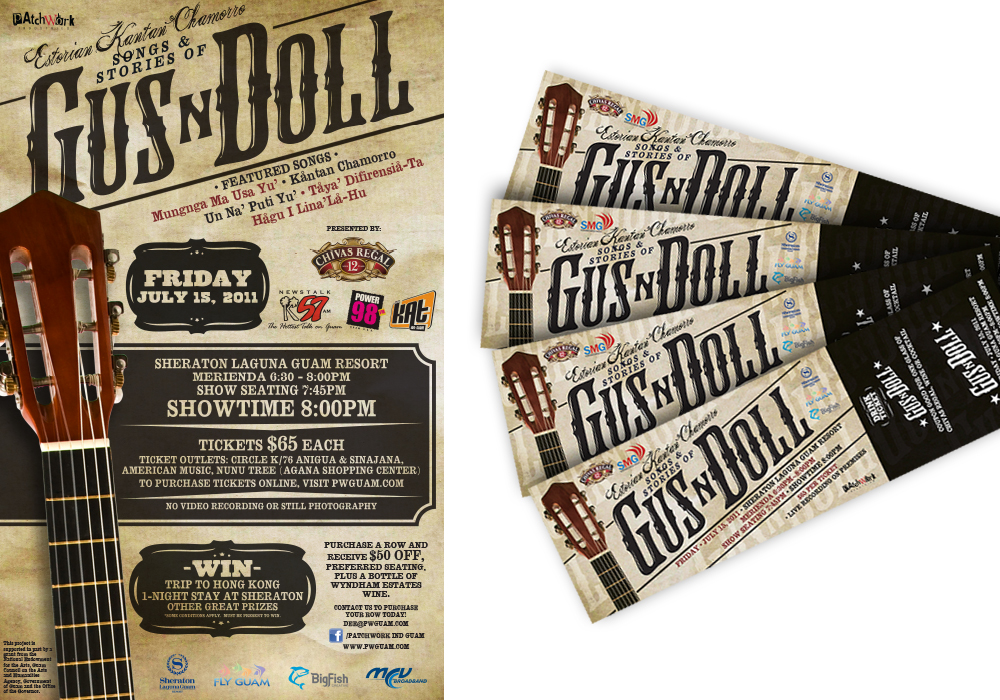 Gus n Doll Event Poster and Tickets