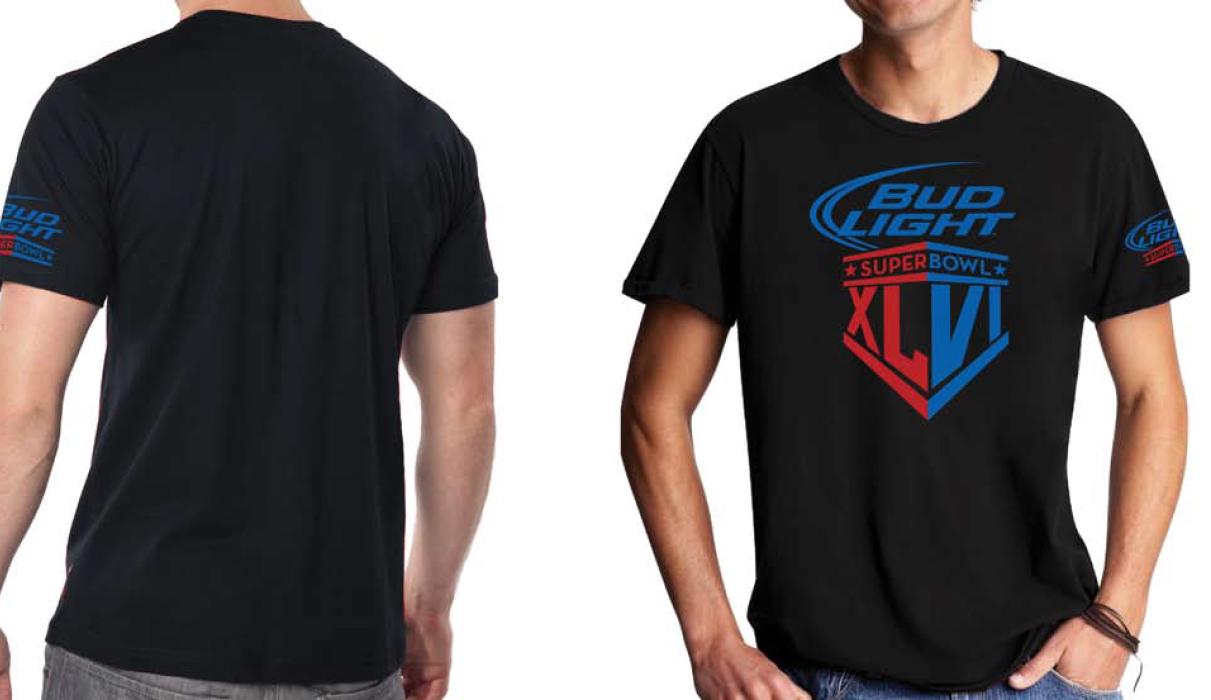 Bud Light Super Bowl Shirt Design