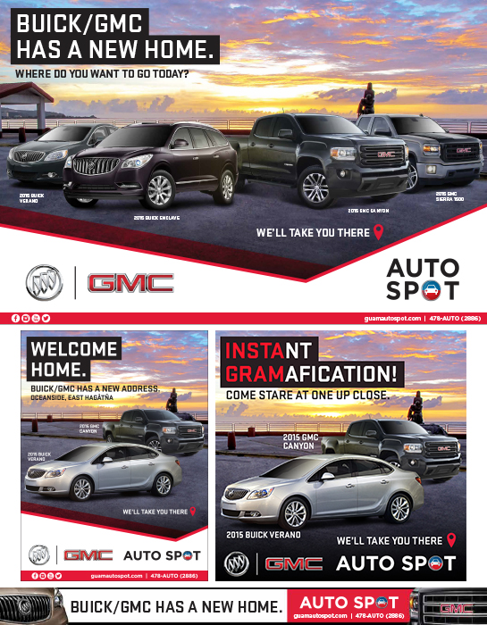 GMC/Buick New Home Launch Ads