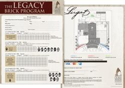 Legacy Brick Program Order Form