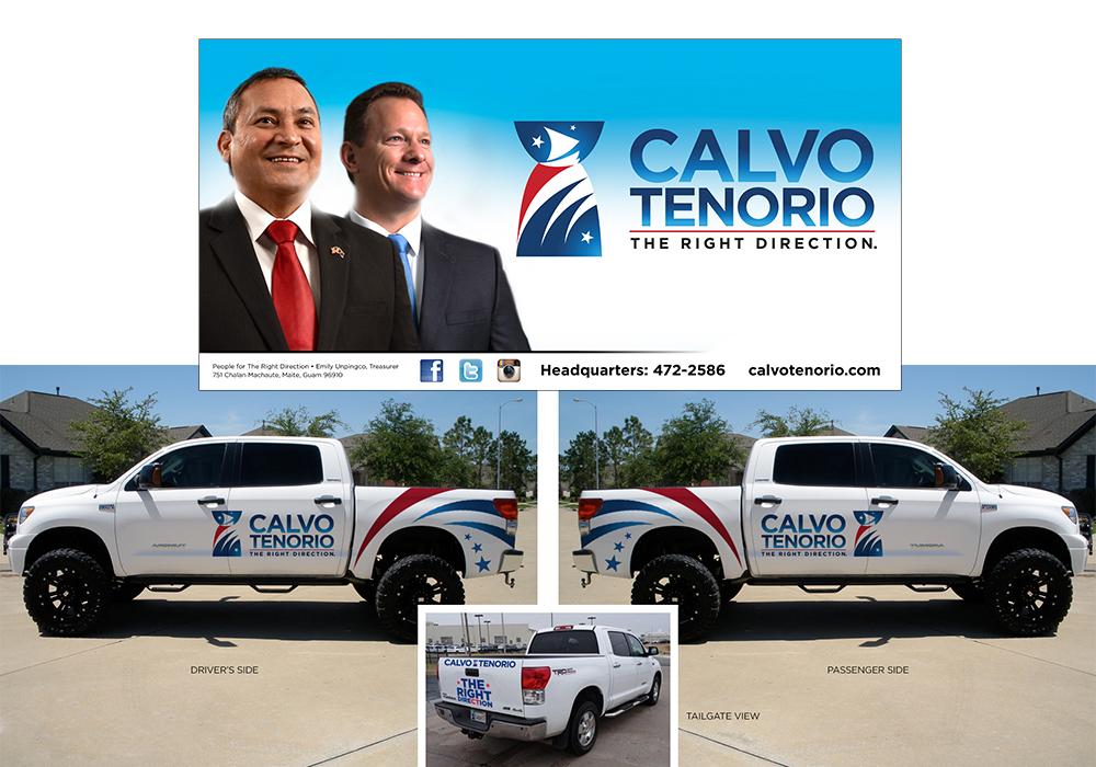 CalvoTenorio Billboard & Truck Wrap
