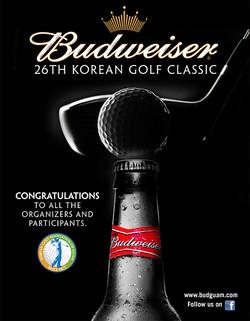 Budweiser Korean Golf Classic Ad