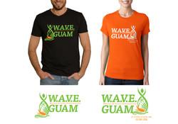 TEC Wave Club Tshirt Design