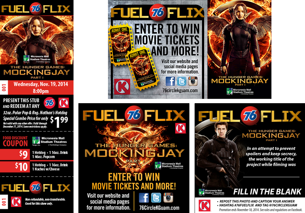 Fuel Flix - Hunger Games Mockingjay
