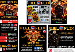 Fuel Flix - Hunger Games Mockingjay