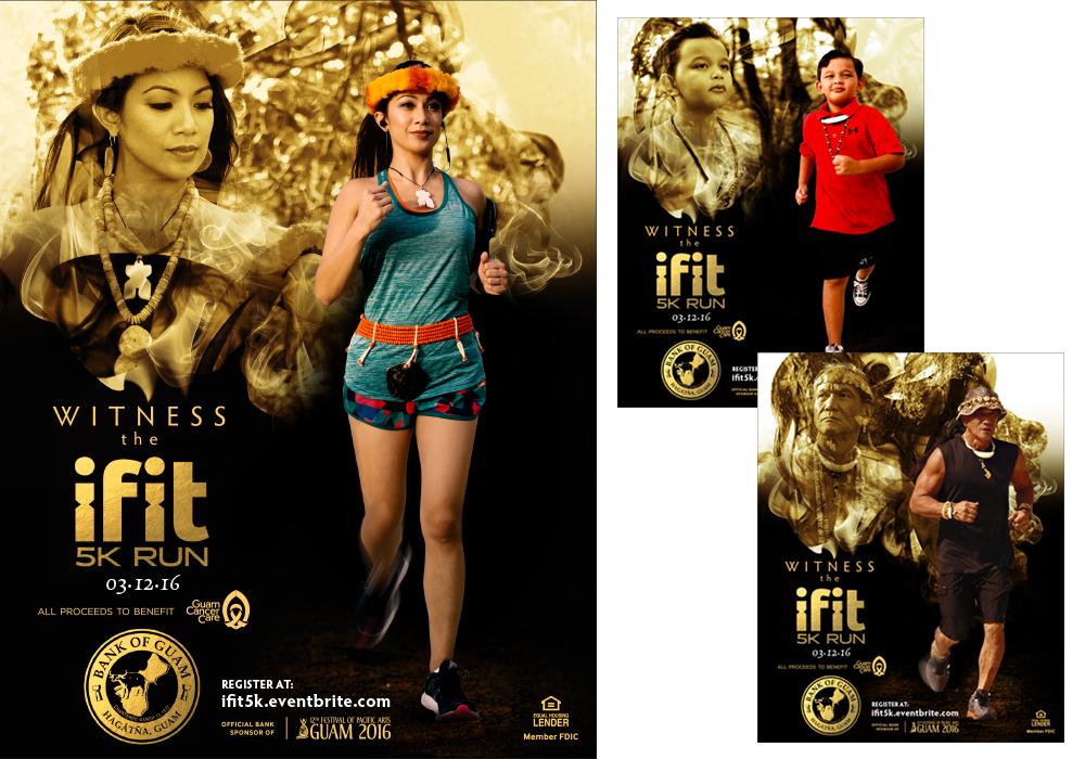 Ifit 5k Run Print Ads