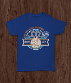 NDHS Alumni Volleyball Tshirt Design