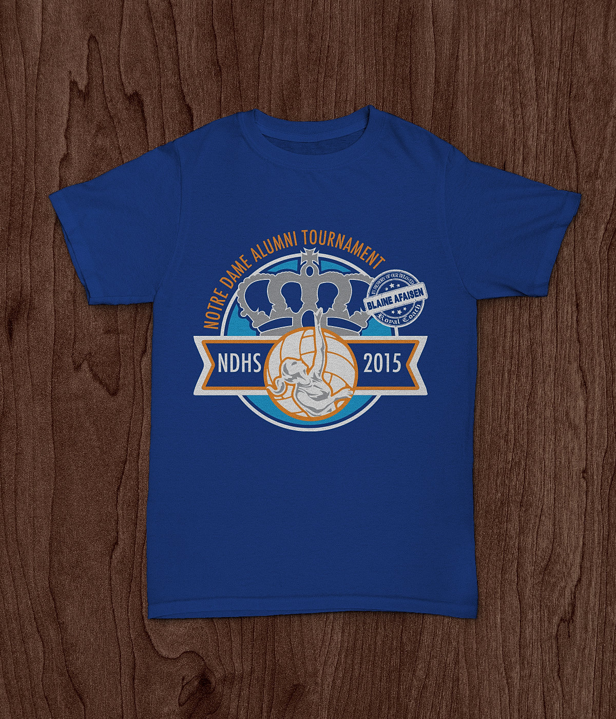 T shirt design volleyball - Bigfishcreativeguam Ndhs Alumni Volleyball Tshirt Design