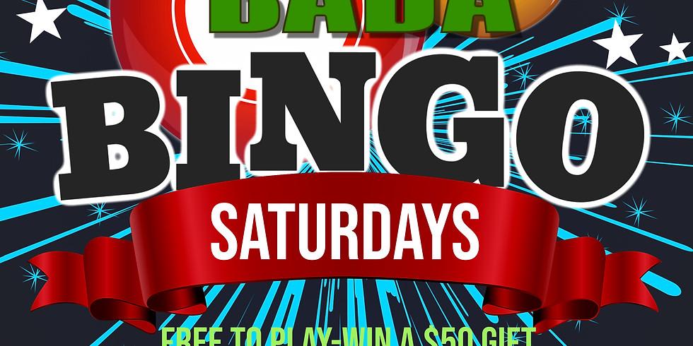 BADA BINGO Every Saturday starting in October